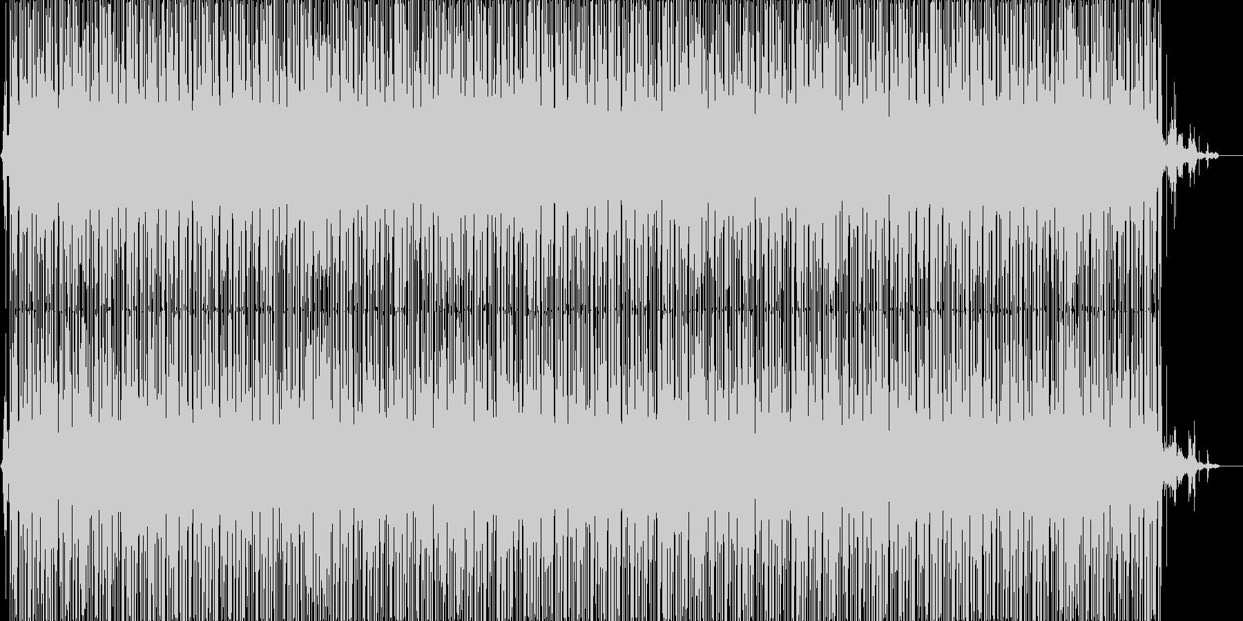 ジャングルBGM(メロ有り)の未再生の波形