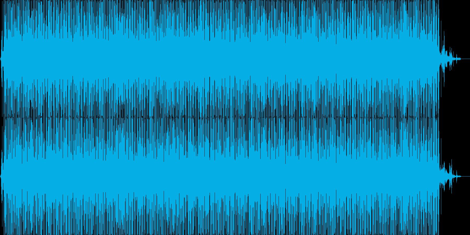 ジャングルBGM(メロ有り)の再生済みの波形