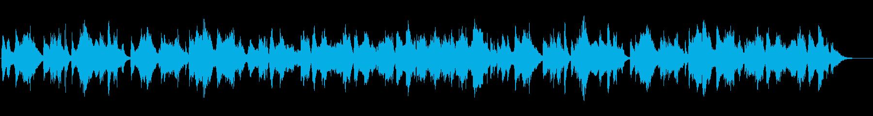 春の星空の様にクールでネイチャー系BGMの再生済みの波形