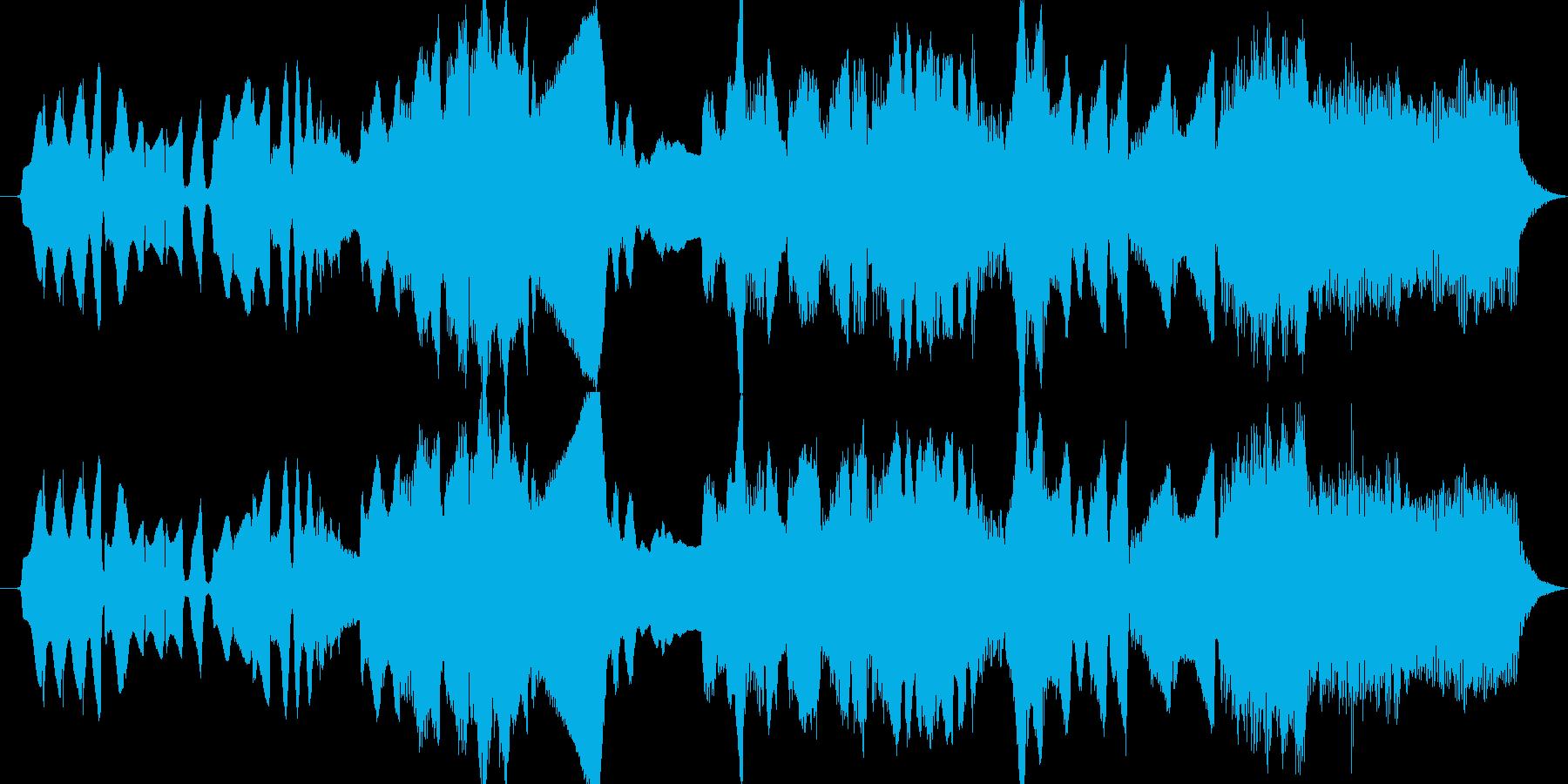 鍵盤ハーモニカとパイプオルガンによる牧歌の再生済みの波形