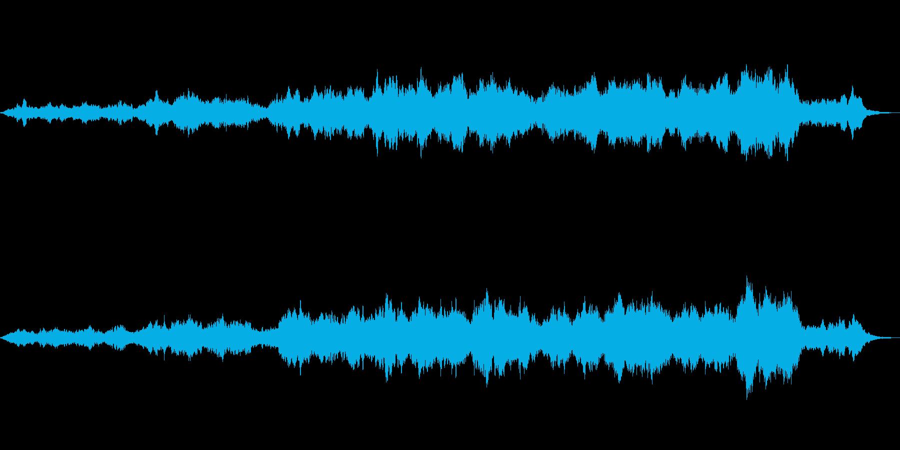 ストリングス中心に自然の雄大さを表現の再生済みの波形