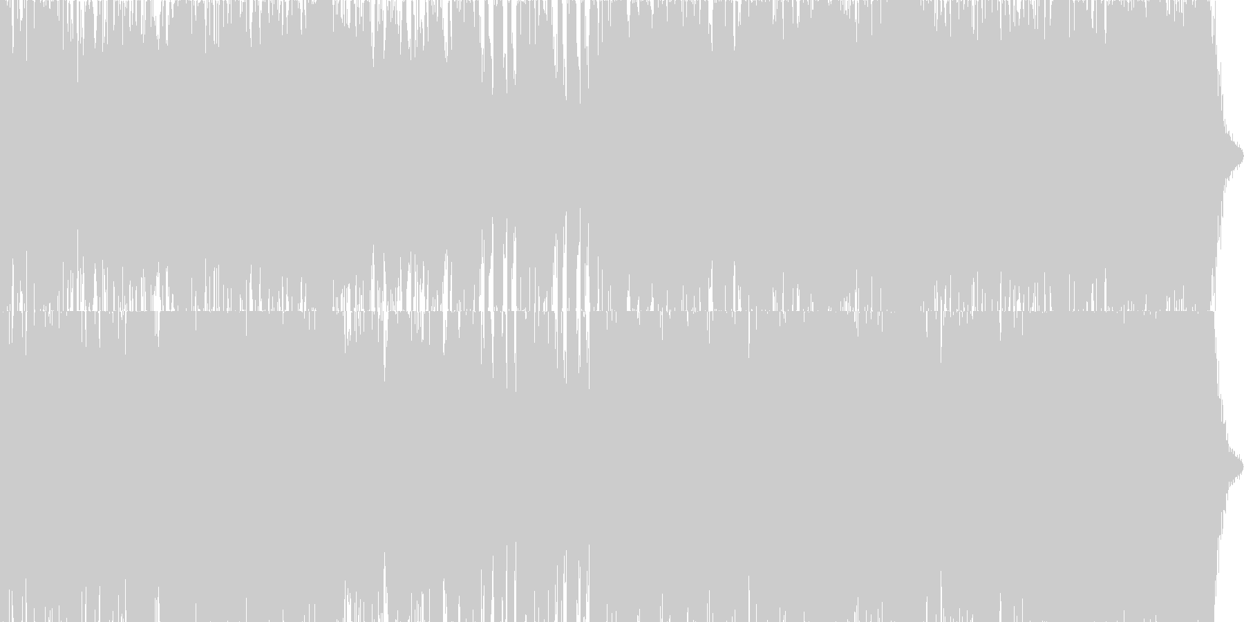 映画・ゲーム用バトルBGM7の未再生の波形