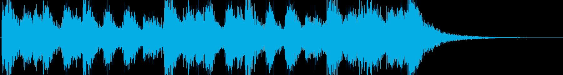 オーケストラ、ファンファーレ、マーチのんの再生済みの波形