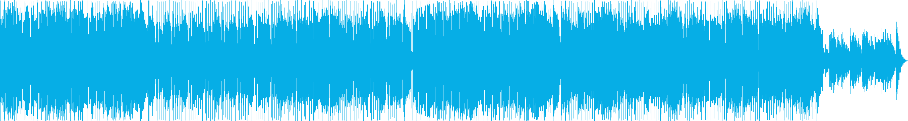キラキラしたメロディーが特徴的なバラードの再生済みの波形