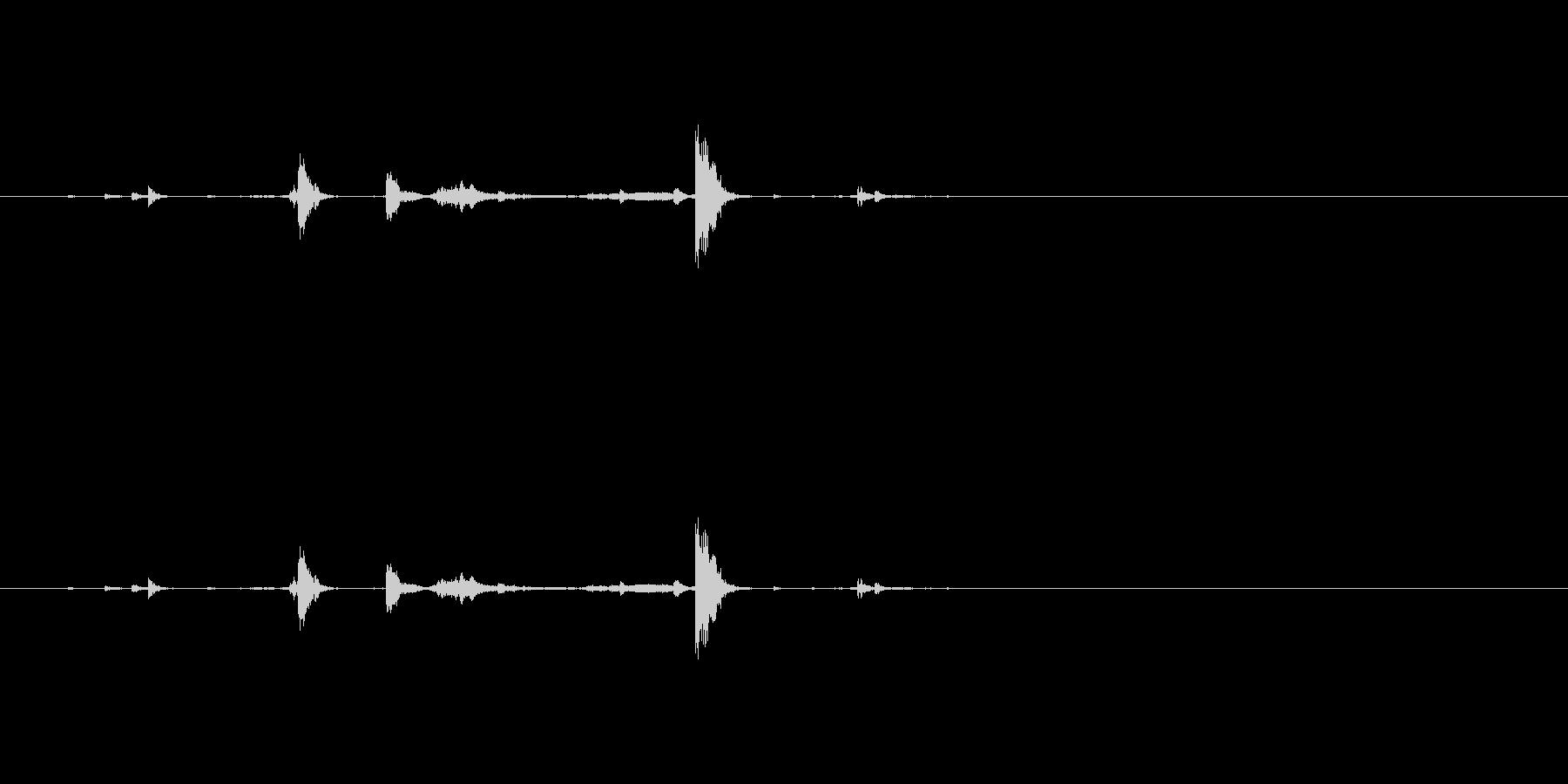 【南京錠01-鍵束2】の未再生の波形