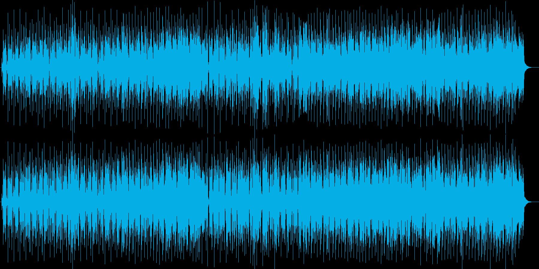 軽快でしなやかでメローなポップスの再生済みの波形