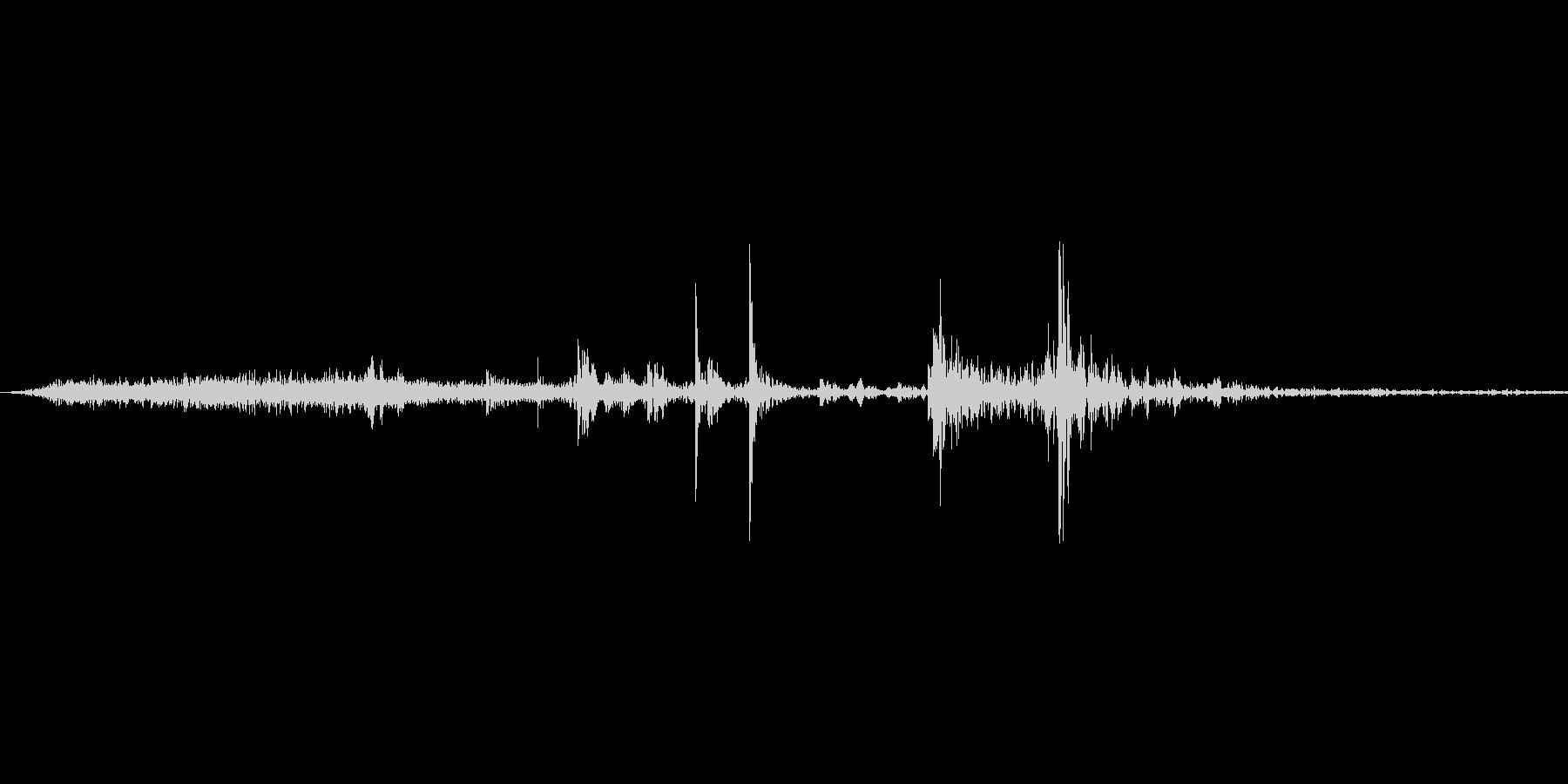 【wav】ページめくり音です_02の未再生の波形