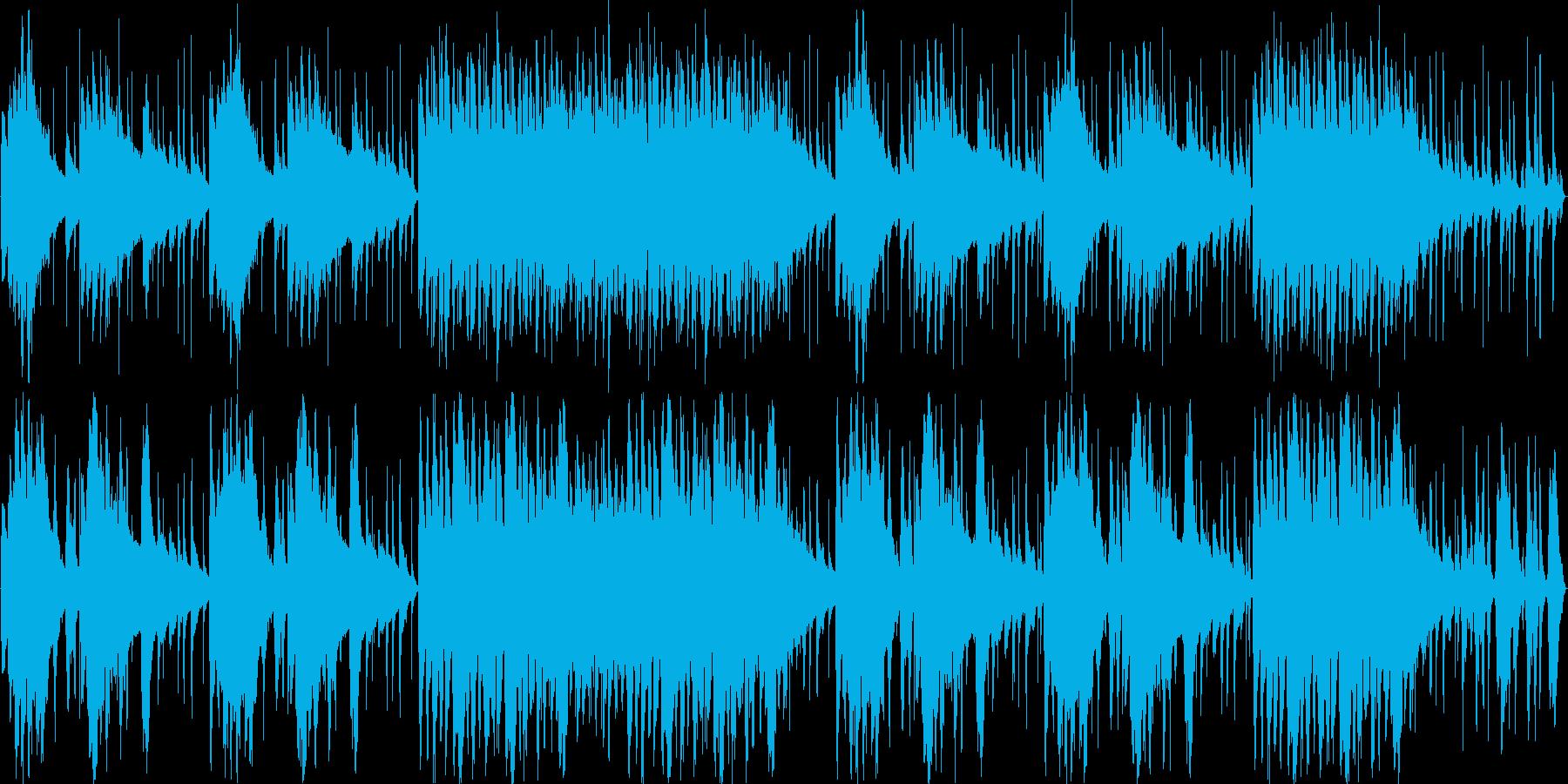 中近東民族楽器BGMの再生済みの波形