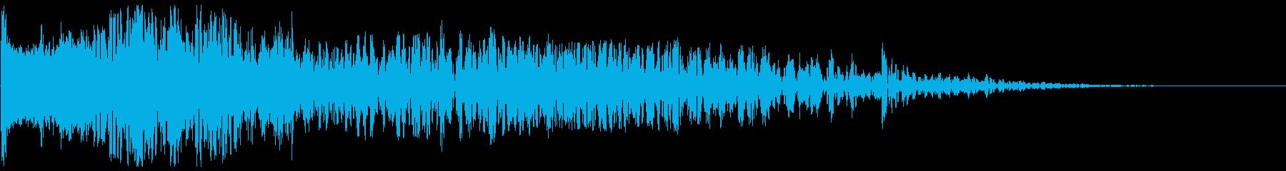 爆発音・大砲5の再生済みの波形