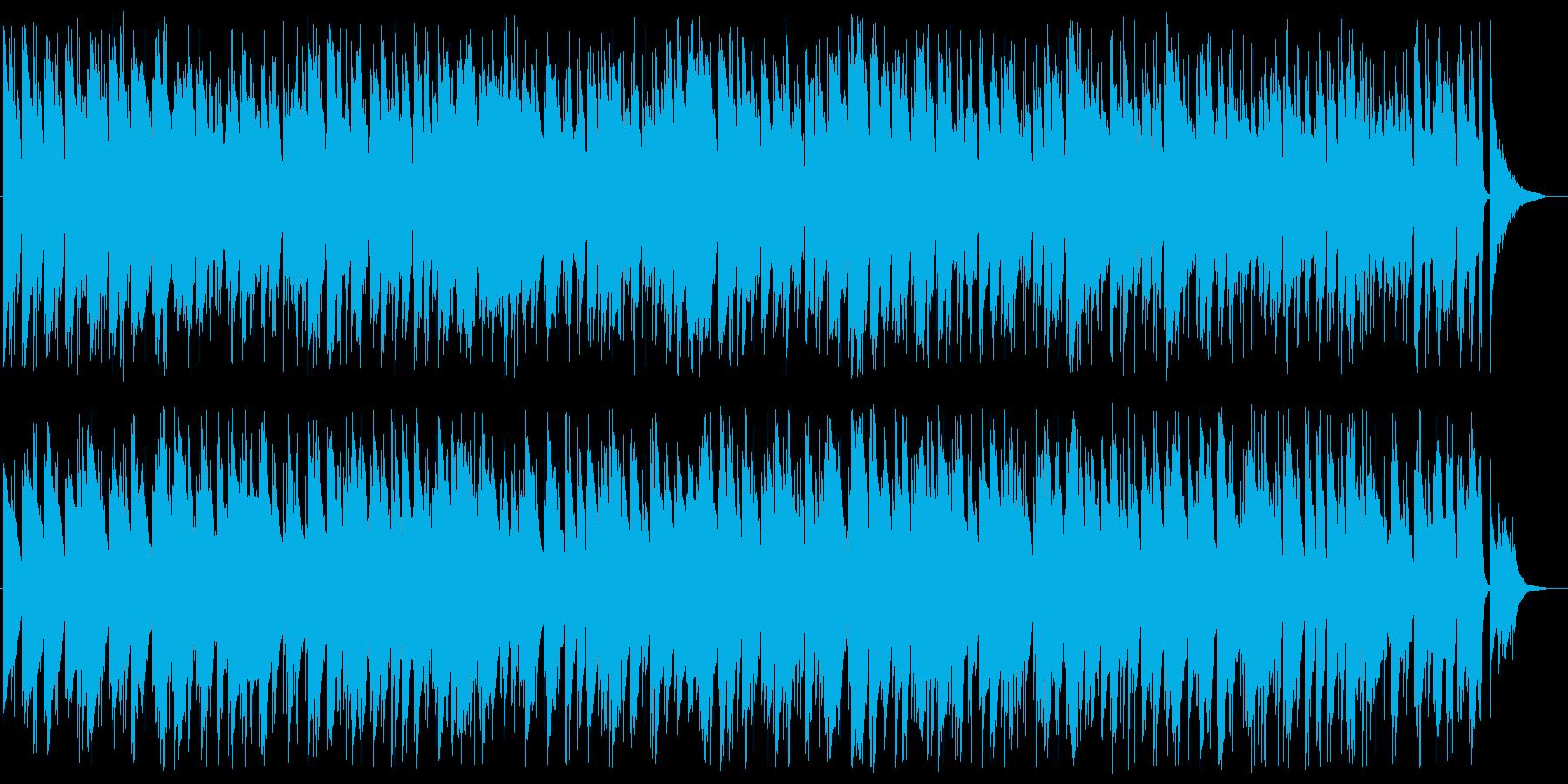 アメイジング・グレイス ボサノバアレンジの再生済みの波形