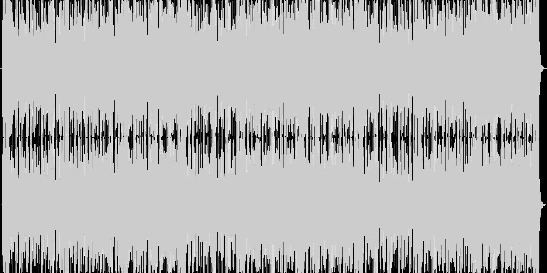 臨場感あふれるスリリングなバトルBGMの未再生の波形