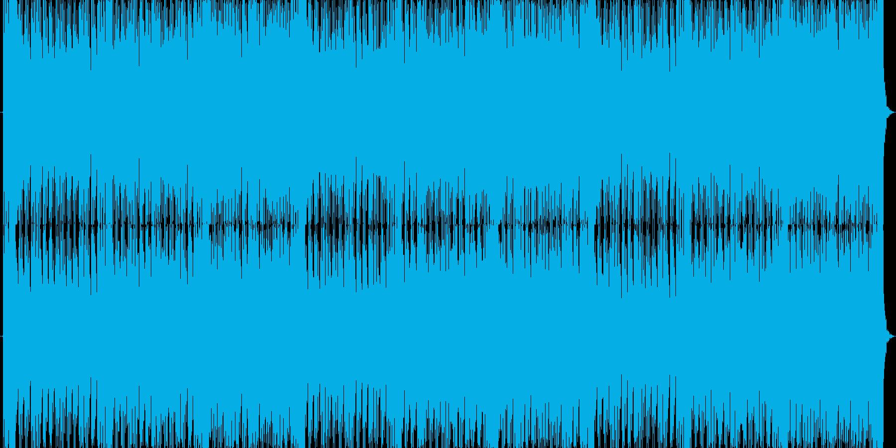 臨場感あふれるスリリングなバトルBGMの再生済みの波形
