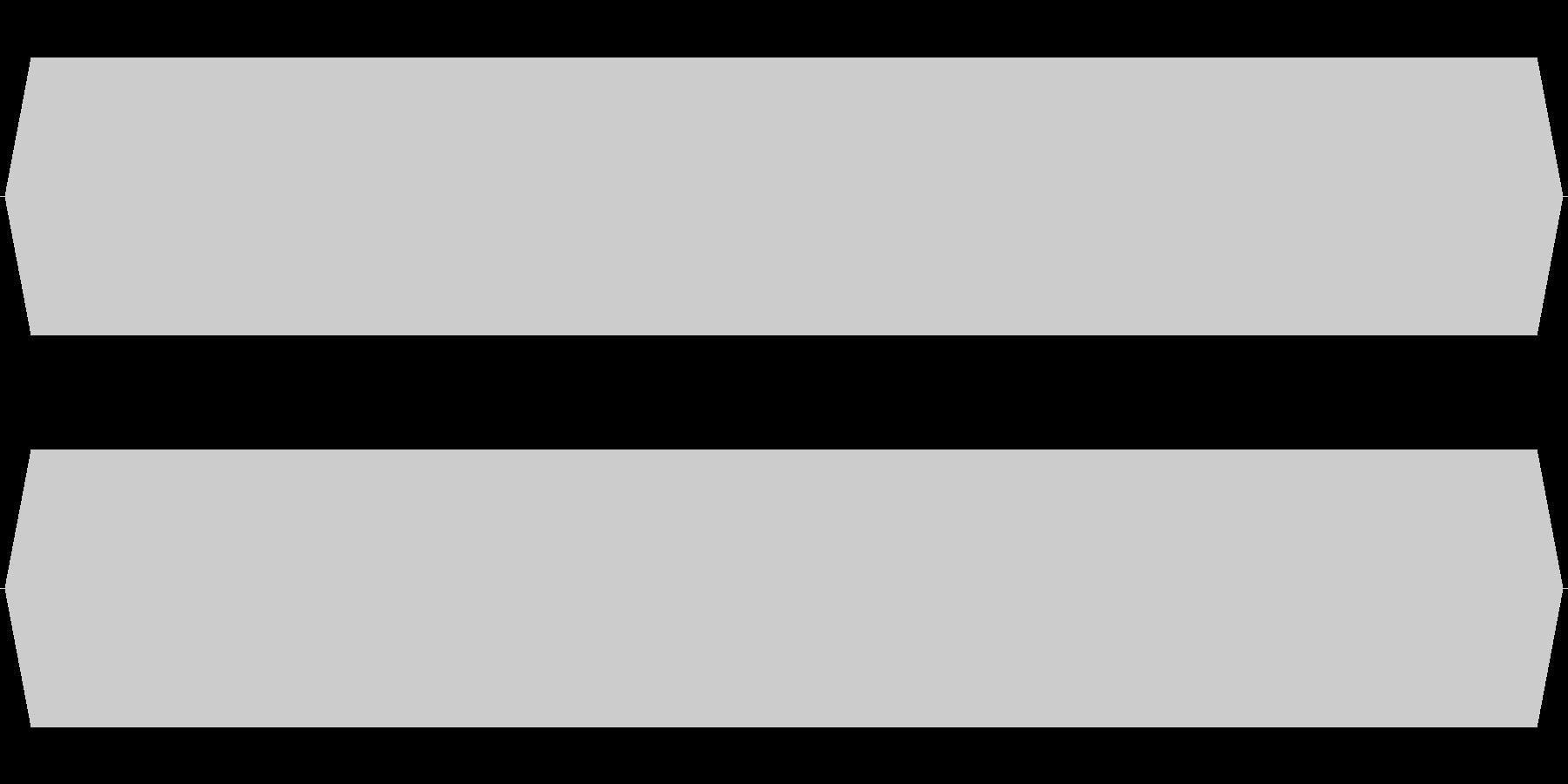 モスキート音 20.5kHzの未再生の波形