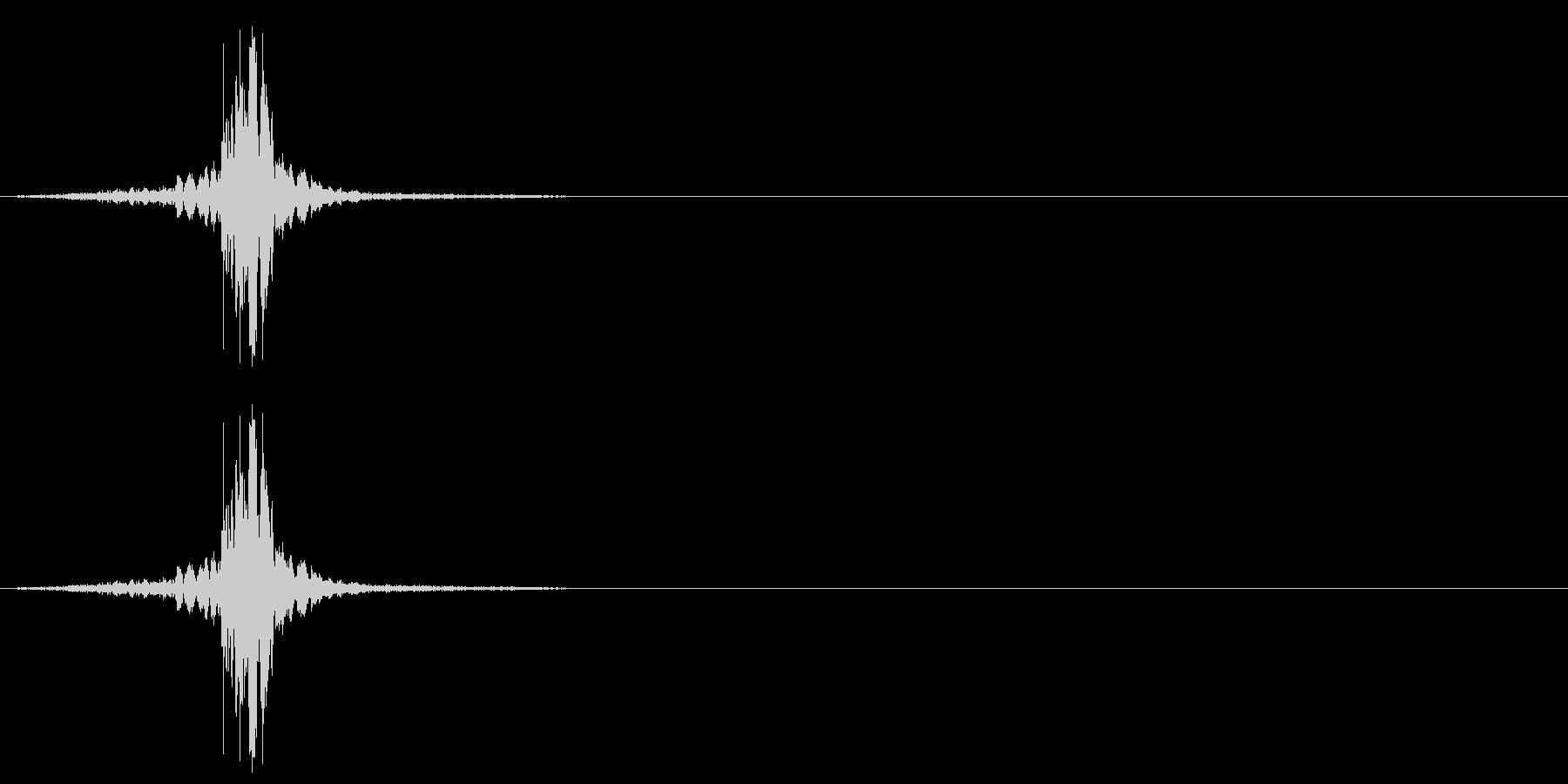 シルク・ナイロン・広げる4の未再生の波形