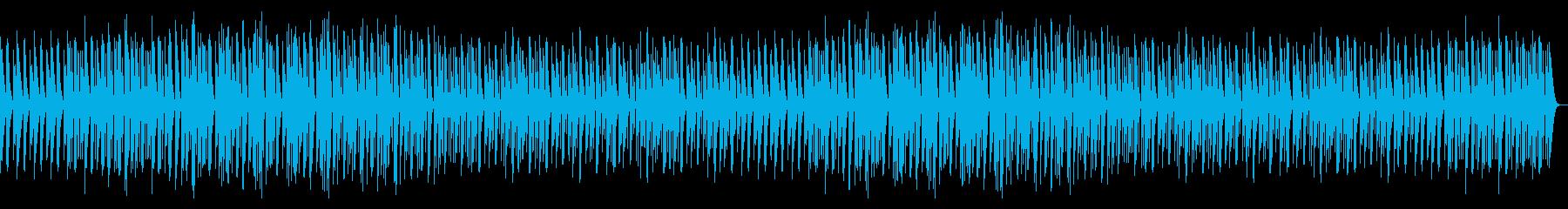 楽しいマリンバのBGMの再生済みの波形