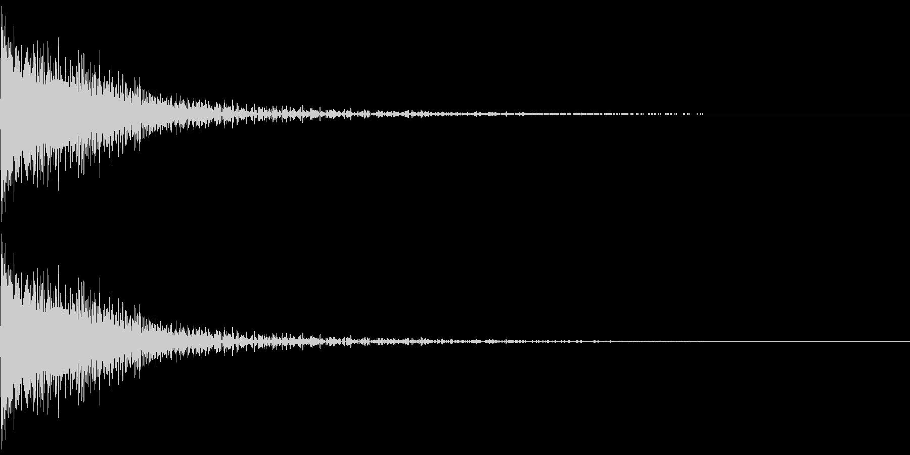 ドォーン(感情:怒る)の未再生の波形