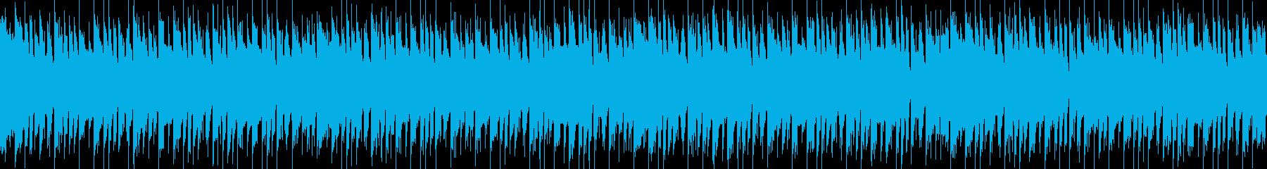 ポップで可愛らしいBGMの再生済みの波形