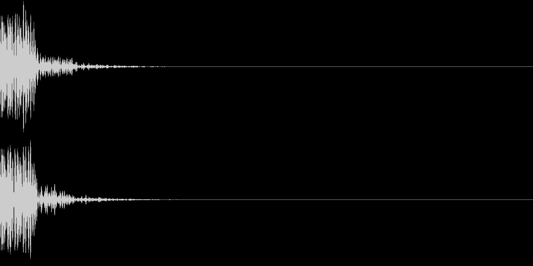 KAKUGE 格闘ゲーム戦闘音 44の未再生の波形