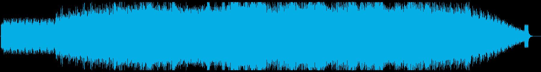 神秘的/ピアノ/アンビエントの再生済みの波形