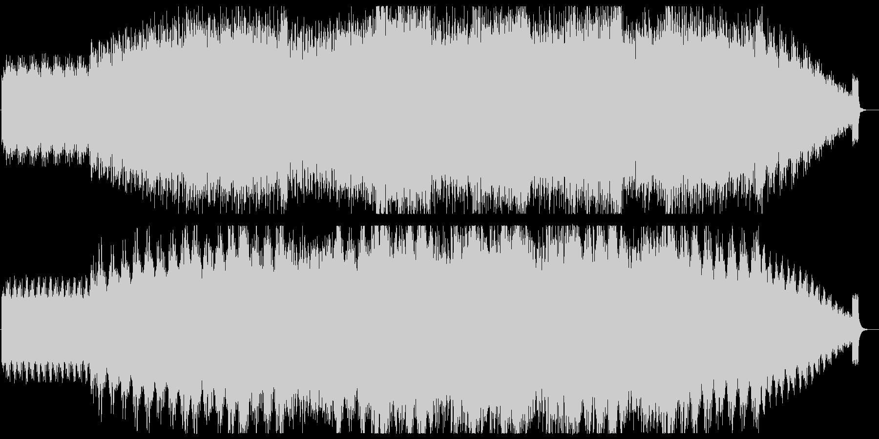 神秘的/ピアノ/アンビエントの未再生の波形