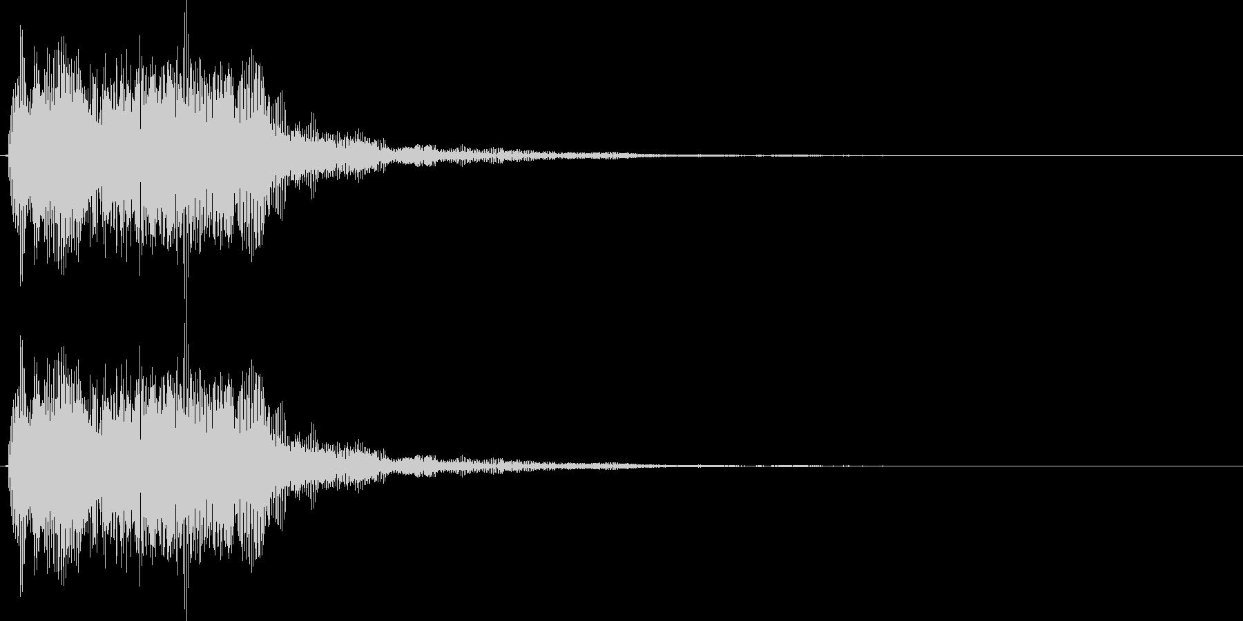 デデーン3 (クイズ出題系 音程高め)の未再生の波形