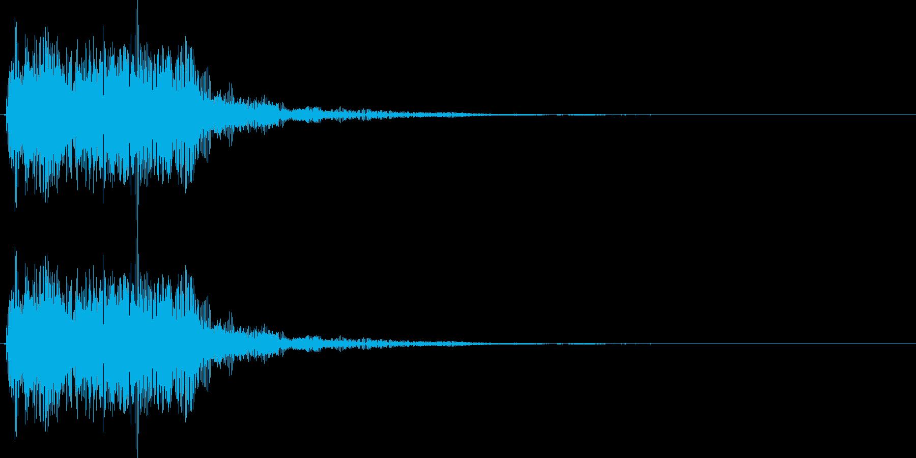 デデーン3 (クイズ出題系 音程高め)の再生済みの波形