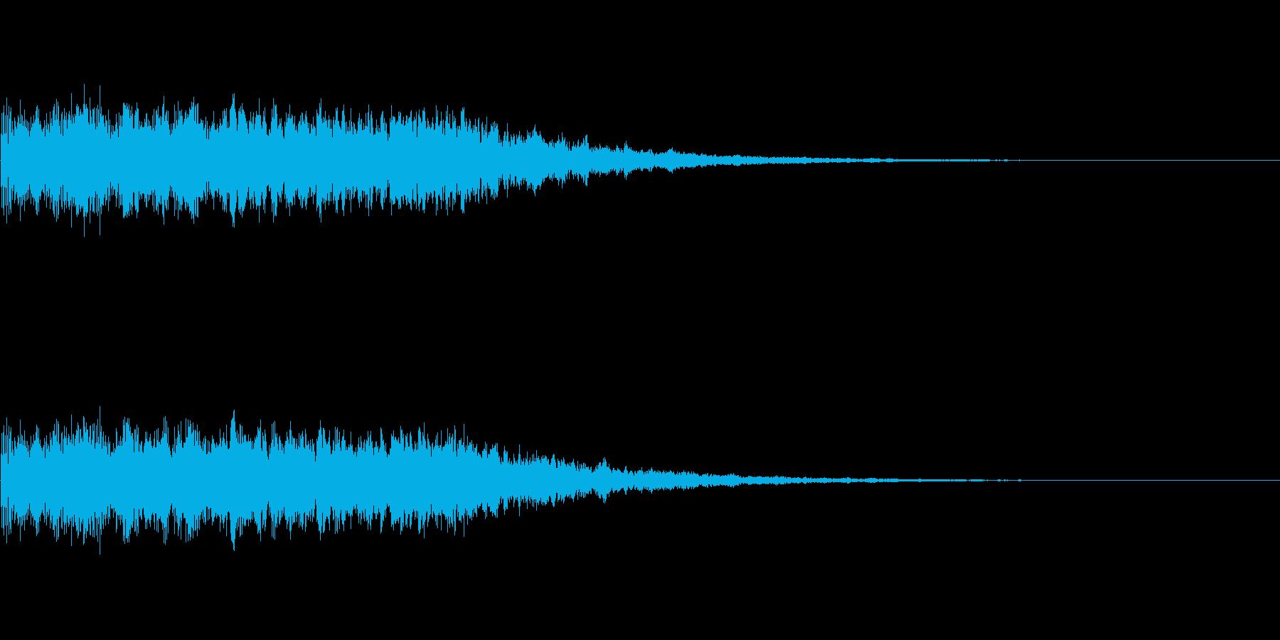 キュイーン!(パチスロ・タイトル決定音)の再生済みの波形