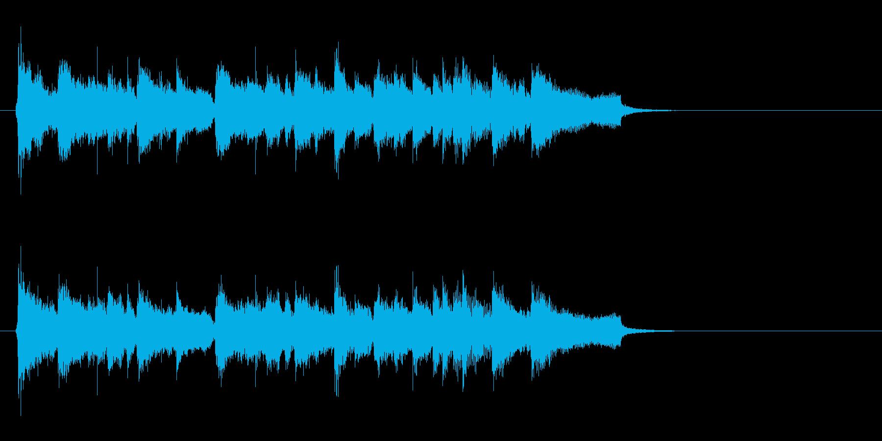 AOR風トレンディ・バラードの再生済みの波形