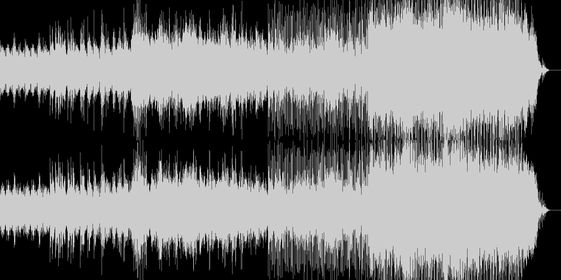 映像のためのアコギPOPの未再生の波形