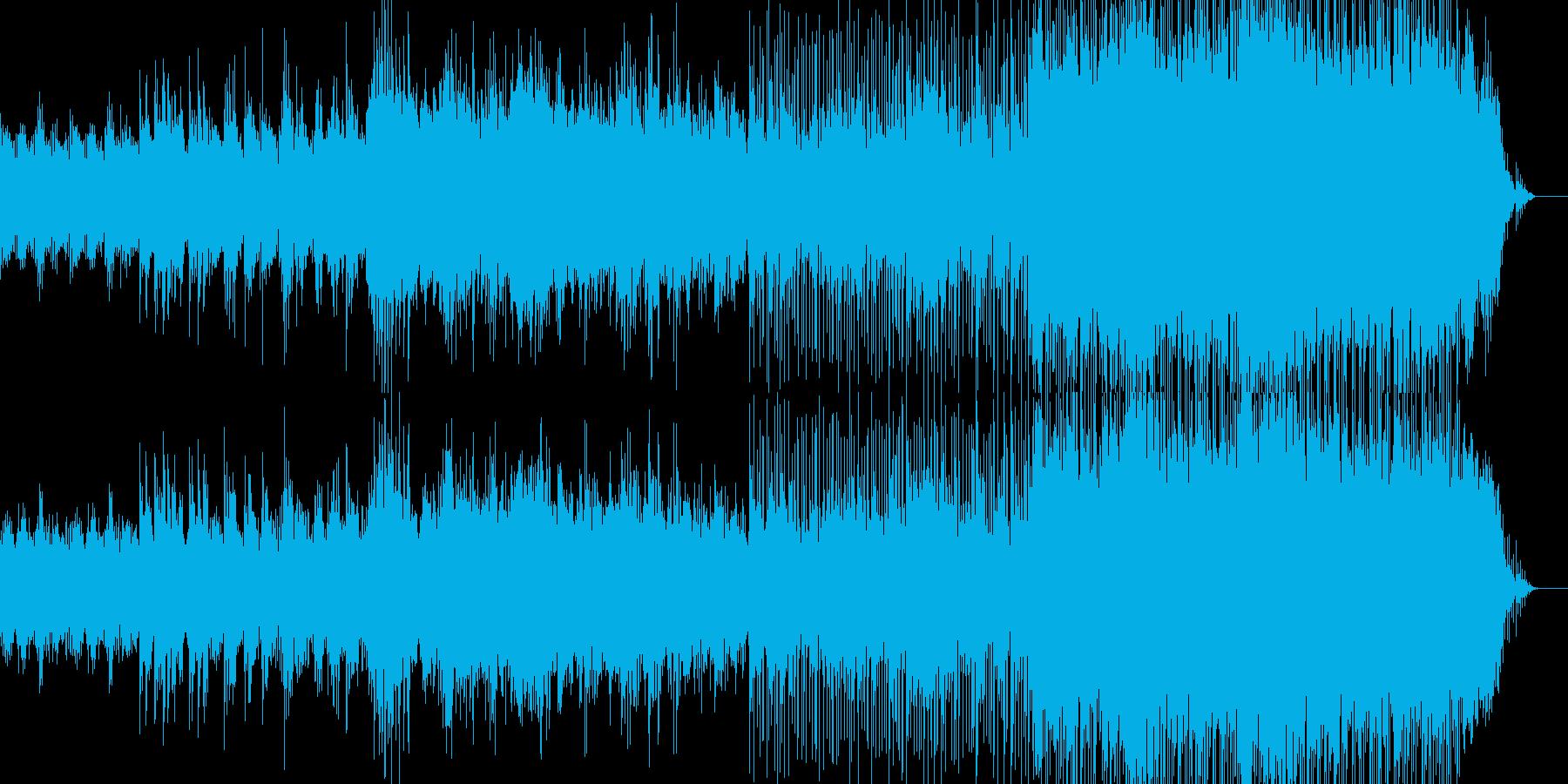 映像のためのアコギPOPの再生済みの波形