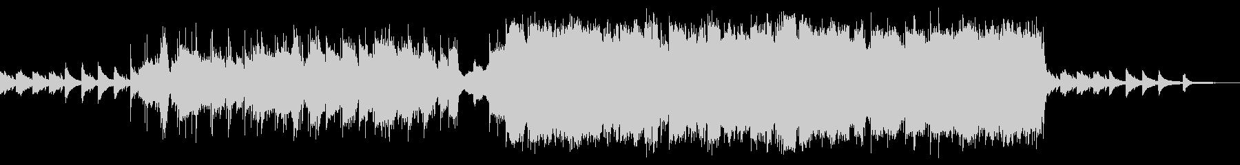 感動的なトランペットのスローバラードの未再生の波形
