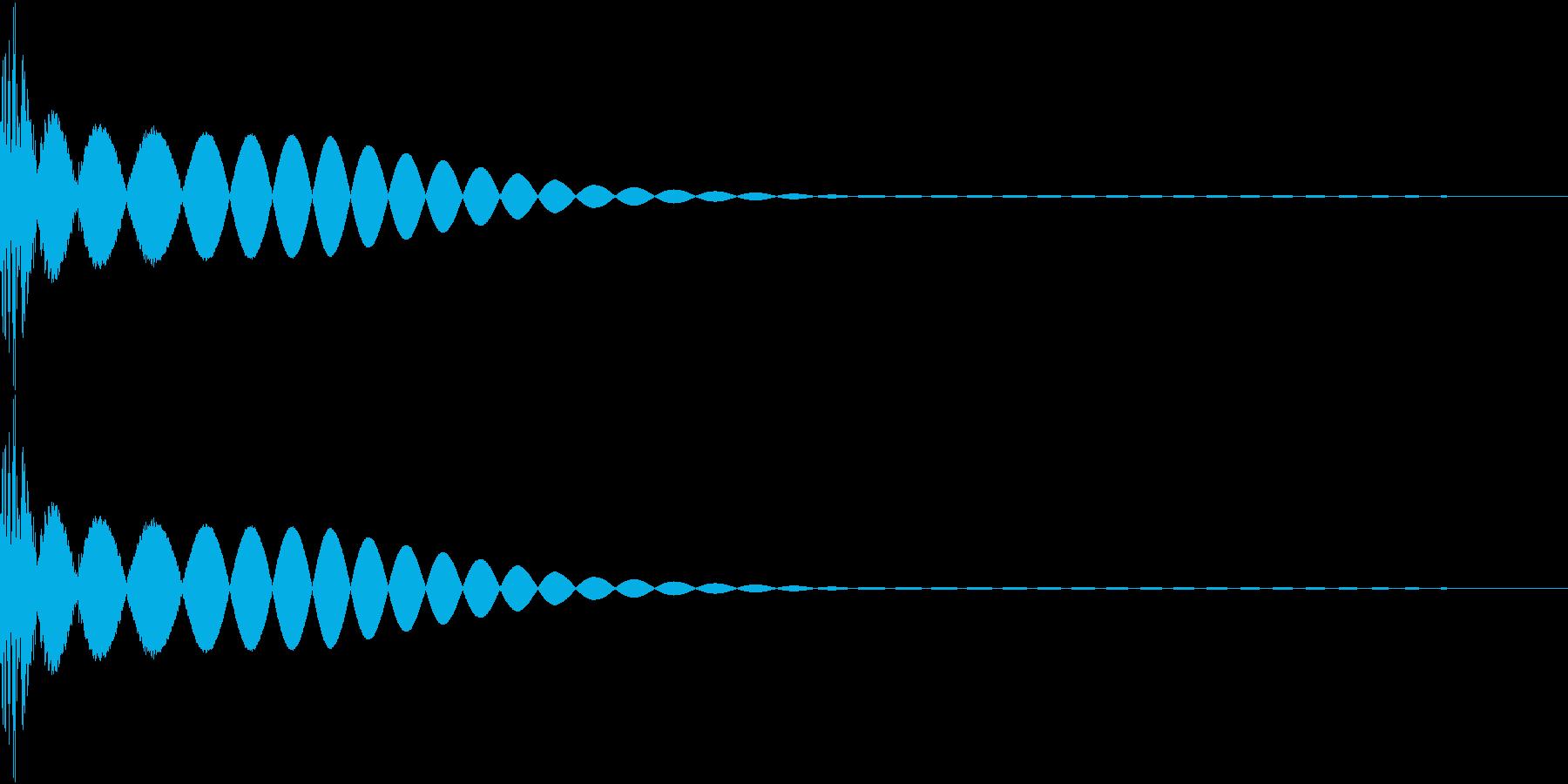 DTM Kick 6 オリジナル音源の再生済みの波形