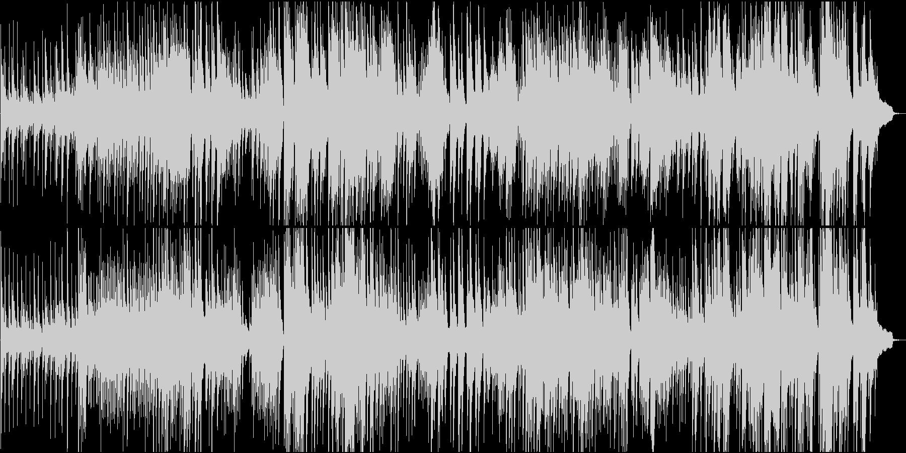 約4分の、長い階段のようなピアノソロ楽曲の未再生の波形