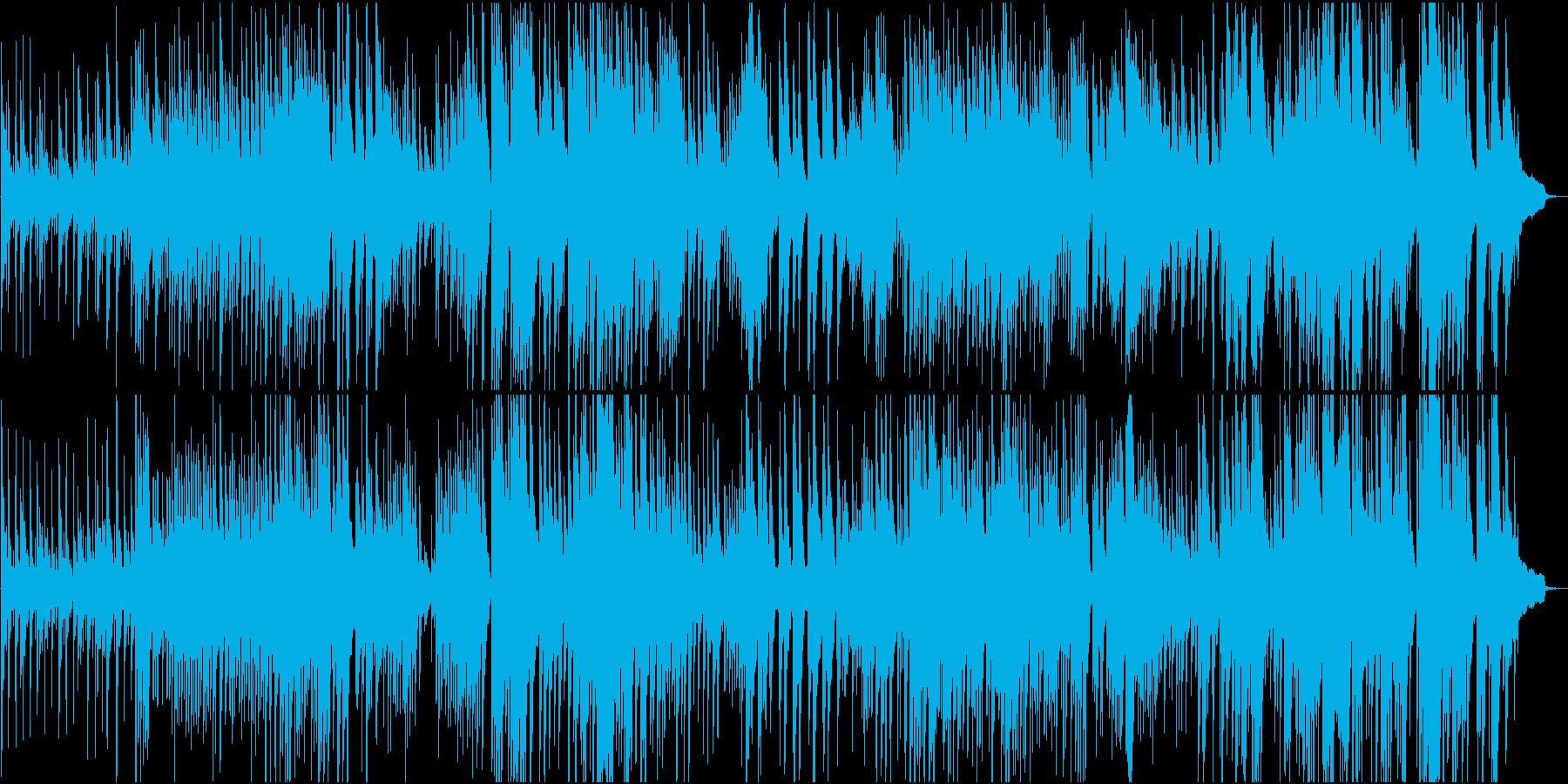 約4分の、長い階段のようなピアノソロ楽曲の再生済みの波形