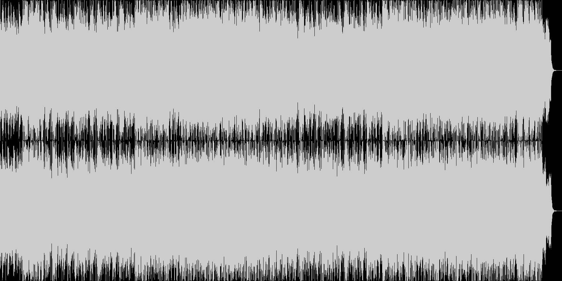 フランメンコギターの壮大なアンサンブル曲の未再生の波形