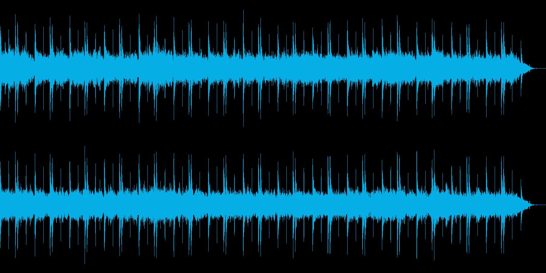 ゆったり、まったり、リラクゼイションの再生済みの波形