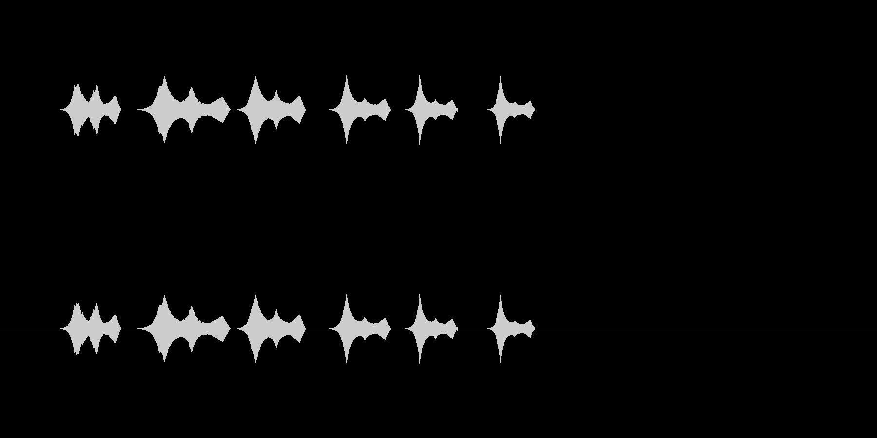 【ポップモーション34-3】の未再生の波形