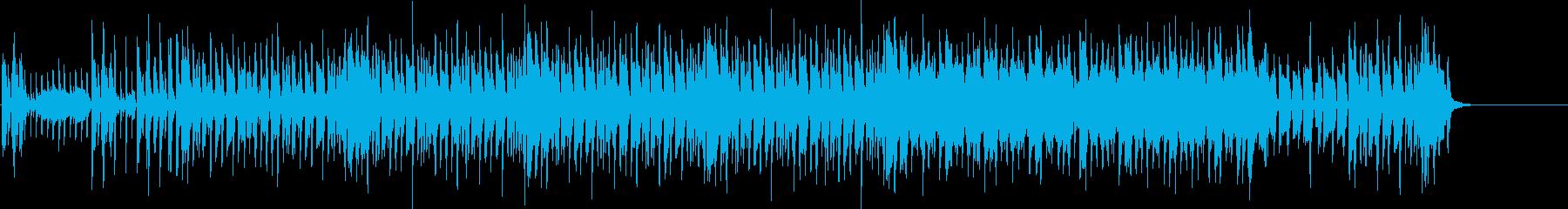 ディスコ 流行 軽快 追跡 レース 夜の再生済みの波形
