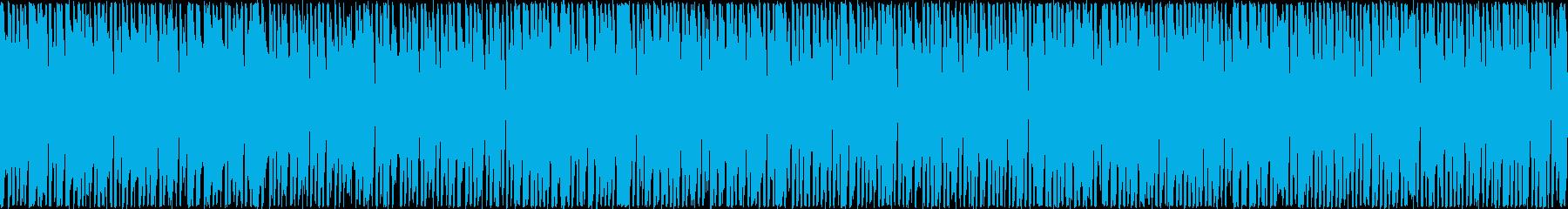 パズルゲームに 明るくお洒落でポップの再生済みの波形
