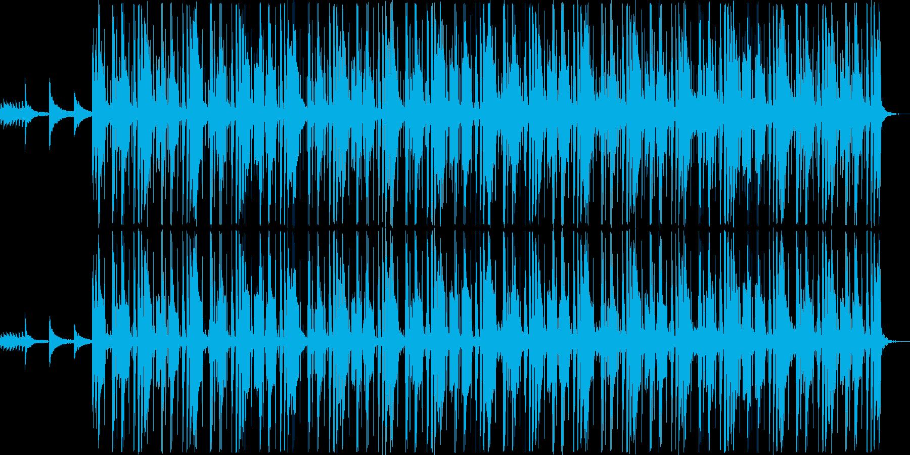 洋楽系のHip-Hopの再生済みの波形