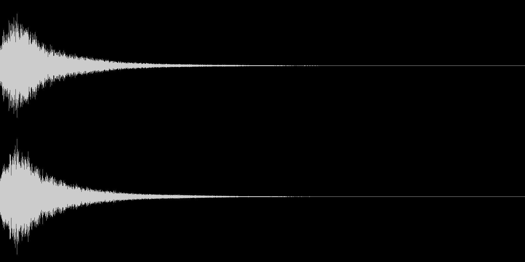 魔法シャキン☆(輝き,魔法ステッキ)33の未再生の波形