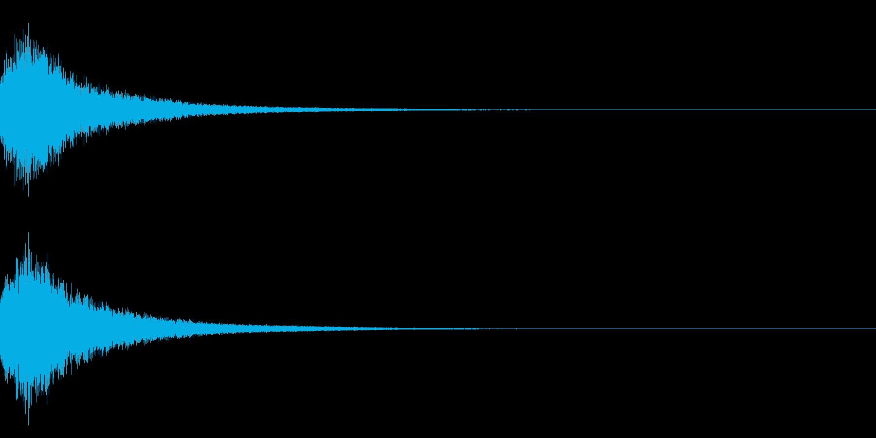 魔法シャキン☆(輝き,魔法ステッキ)33の再生済みの波形