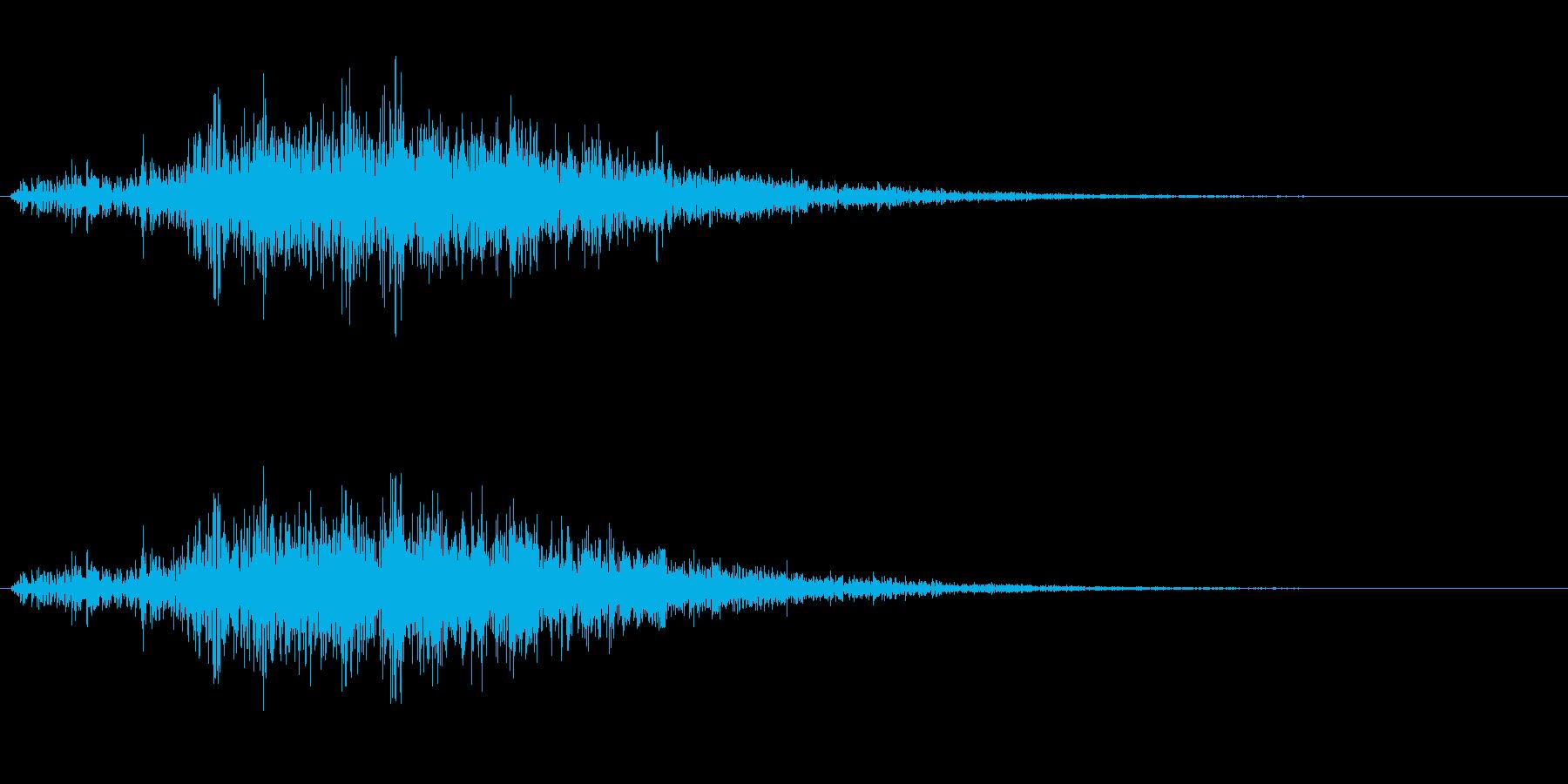 モンスター・海洋生物の触手/振り下ろすの再生済みの波形