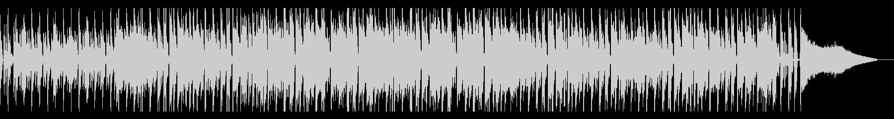 オープニングにぴったりなファンク風BGMの未再生の波形
