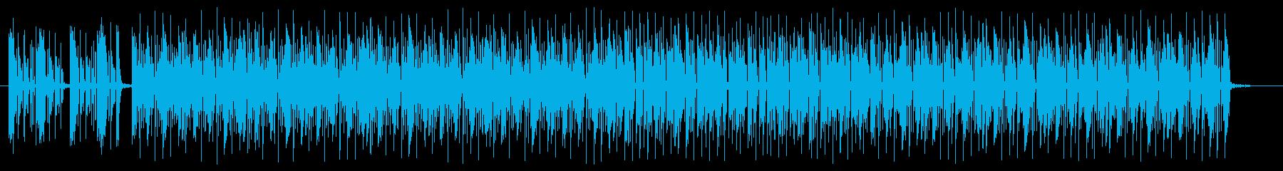 キャッチ―でリズミカルなシンセサウンドの再生済みの波形