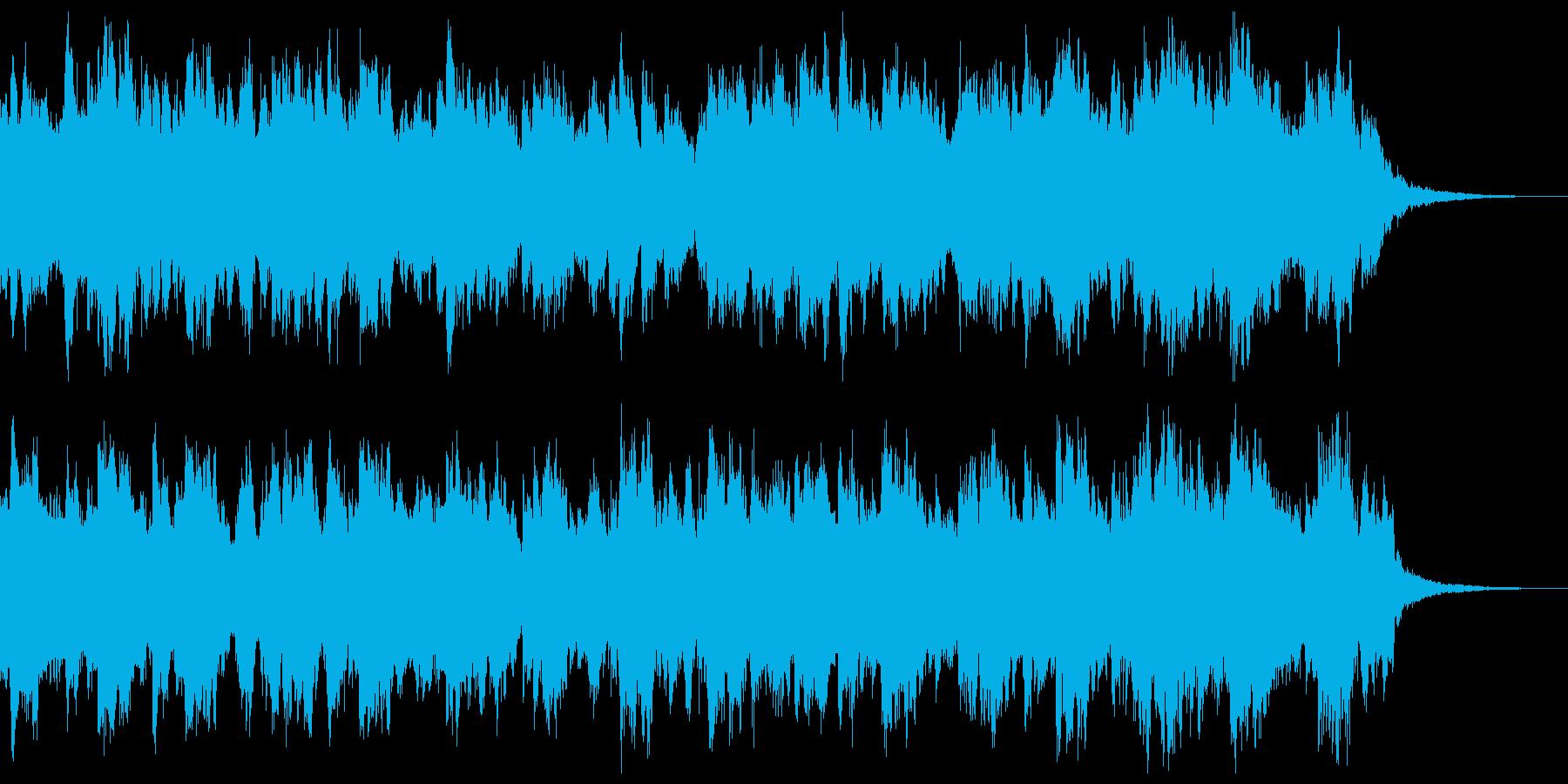 しっとりしたギターアンサンブルの再生済みの波形