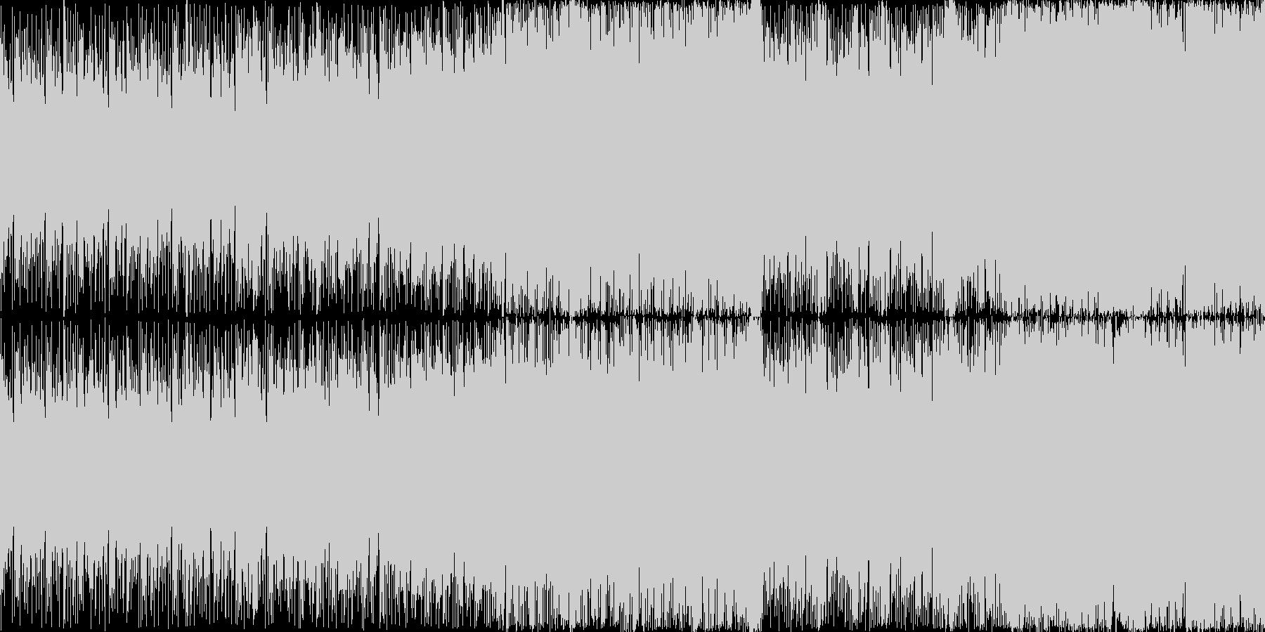 8bit音源 空を駆ける飛行艇 LOOPの未再生の波形