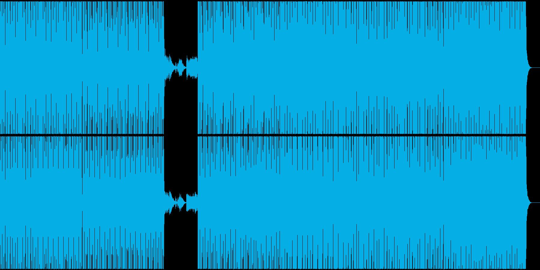 特殊なリズムののJAZZ,HIP-HOPの再生済みの波形