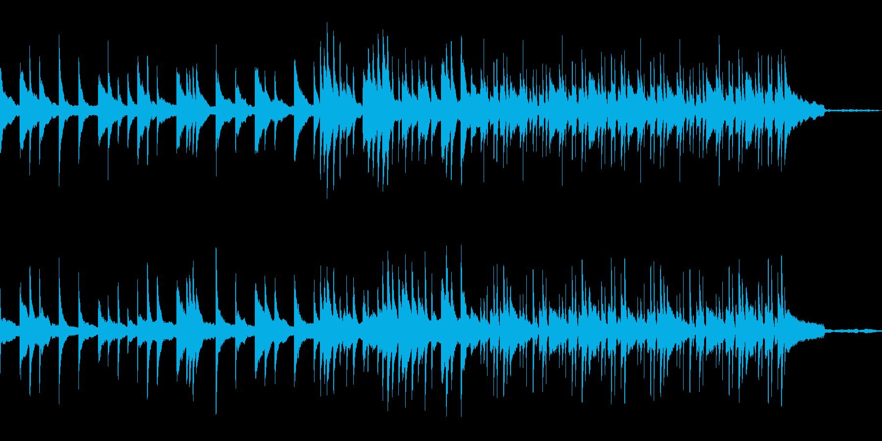 【1分版ピアノソロ】穏やかな雰囲気ピアノの再生済みの波形