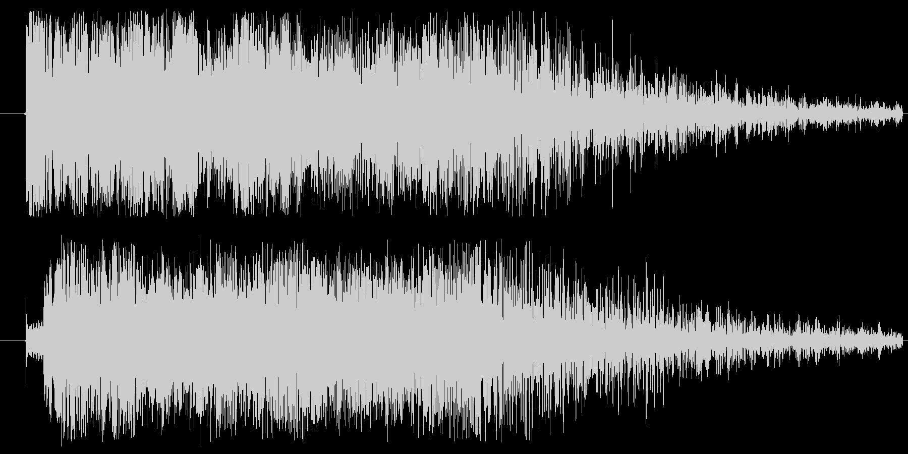 ドミソド(-1):バッドエンド~ホラーの未再生の波形